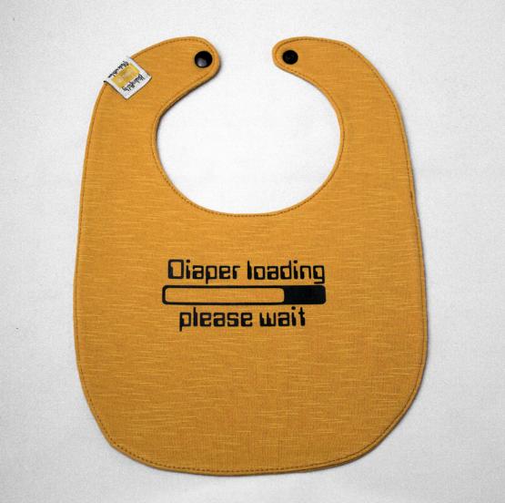 Diaper loading in mustard